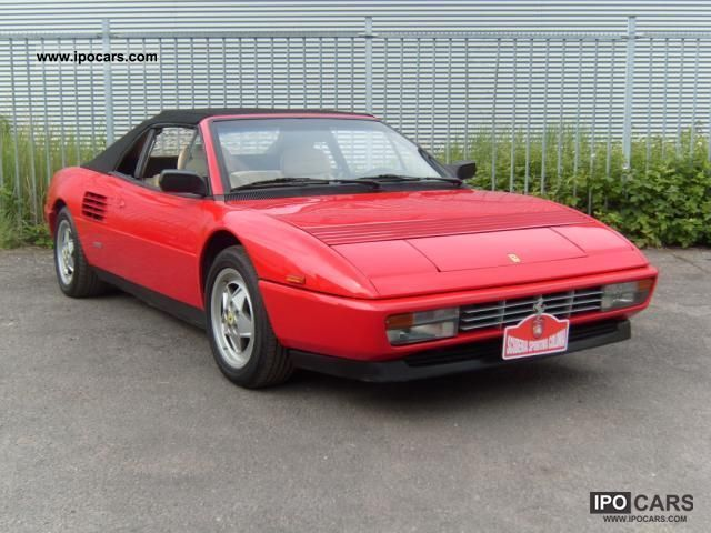 1989 ferrari mondial t specs ferrari mondial t specs 1989. Black Bedroom Furniture Sets. Home Design Ideas