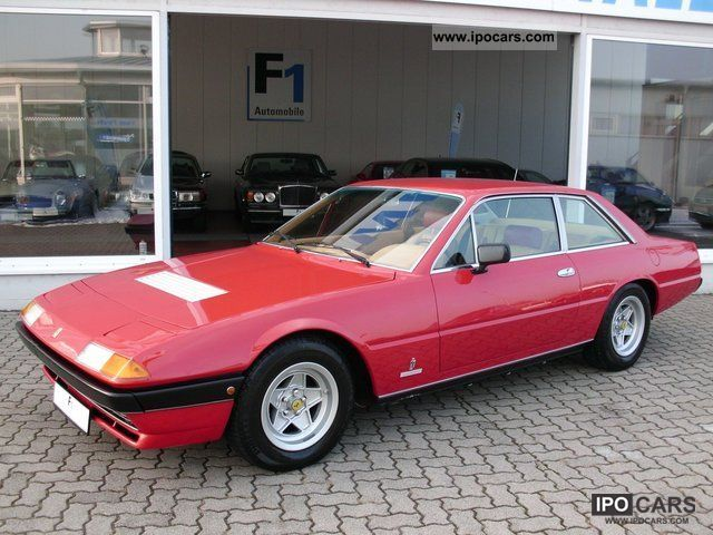 Ferrari  400 GT 2 +2 H number Dt.Fzg carburetor. Originalzus 1979 Vintage, Classic and Old Cars photo