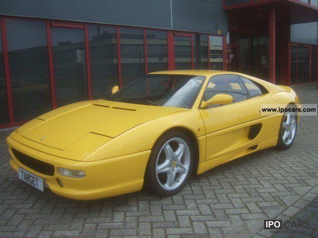 1999 Ferrari F355 GTB Berlinetta Coupe 35L Car Photo