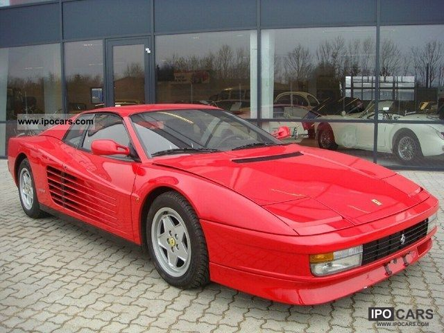 1988 Ferrari Testarossa 49 Car Photo And Specs