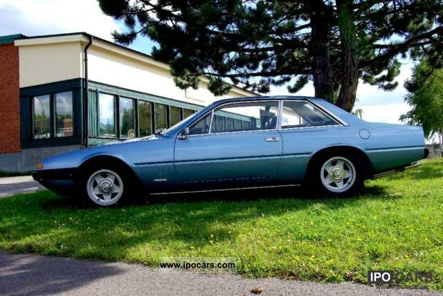 Ferrari  365 GT4 2 +2 1975 Vintage, Classic and Old Cars photo
