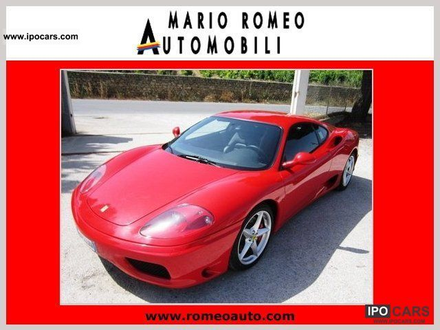 2004 Ferrari  360 MODENA F1 Sports car/Coupe Used vehicle photo
