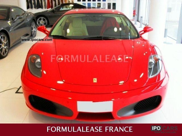 2007 Ferrari F430 F1 Rosso Corsa Crema Car Photo And Specs