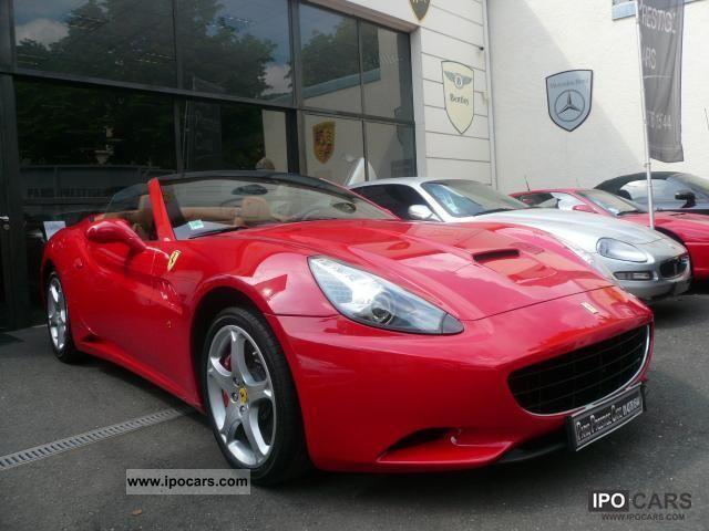 2010 Ferrari California 3 4 V8 460ch Car Photo And Specs