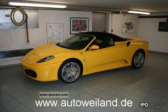 2011 Ferrari F430 Spider F1 215 000 List Price Car Photo And