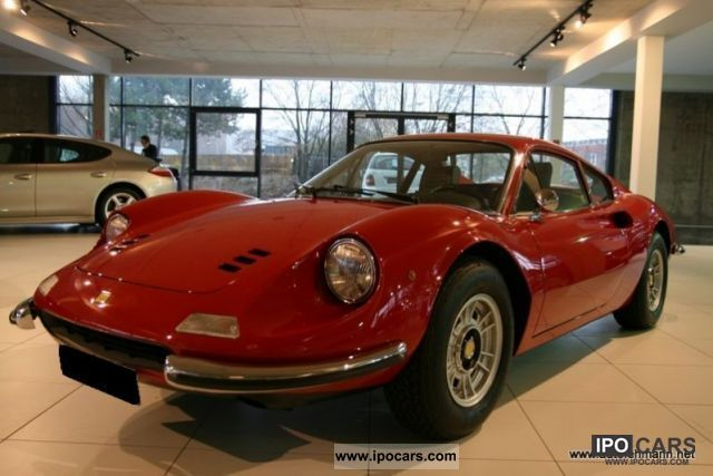 Ferrari  246 Dino GT_19.387 KM_2.HAND_CLASSIC DATA 2 + 1972 Vintage, Classic and Old Cars photo