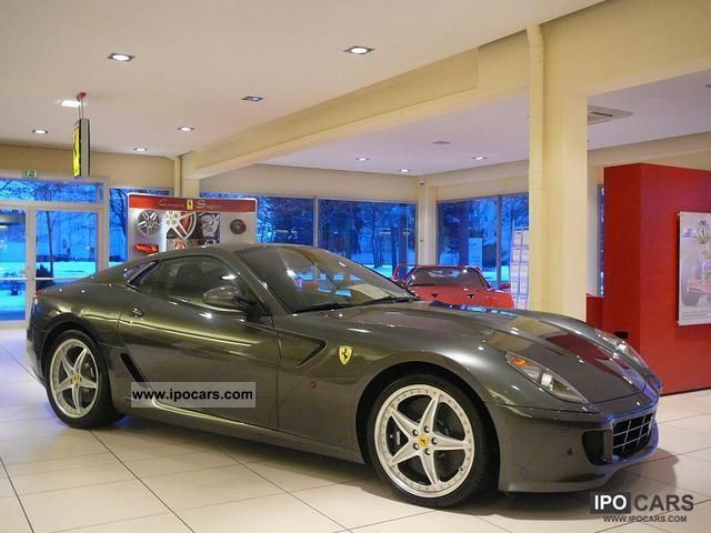 2010 Ferrari 599 Gtb Fiorano Hgte F1 Car Photo And Specs
