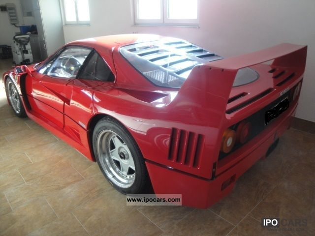 1989 ferrari collectible plastic window 1 hand car photo and specs. Black Bedroom Furniture Sets. Home Design Ideas
