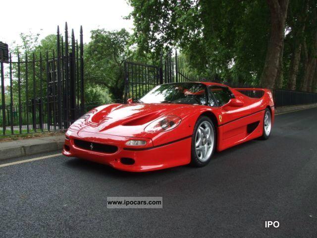 1997 Ferrari F50 Car Photo And Specs