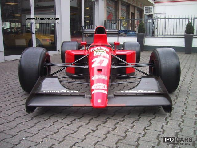 Ferrari  Formula 1 racing car 1991 Race Cars photo