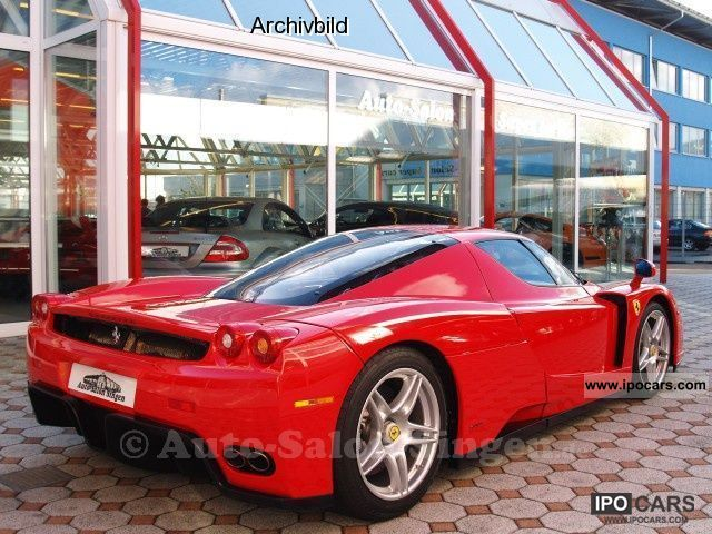 2005 Ferrari Enzo Car Photo And Specs