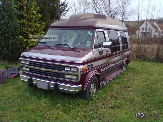 GMC  Chevy G20 VAN 1995 Liquefied Petroleum Gas Cars (LPG, GPL, propane) photo
