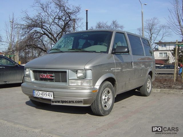 2004 GMC  Safari instalacja gazowa LPG Van / Minibus Used vehicle photo