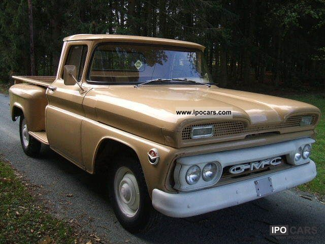 GMC  Pick Up Stepside without tinkering + original 1961 Vintage, Classic and Old Cars photo