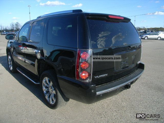 2007 Gmc Yukon Denali Car Photo And Specs