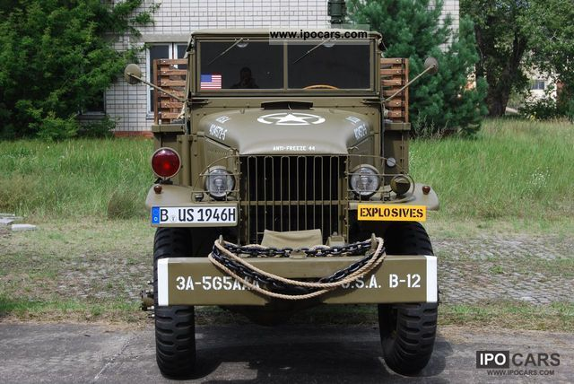 GMC  CCKW 353 1945 Vintage, Classic and Old Cars photo