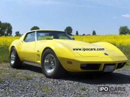 Corvette Stingray Horsepower on Corvette Stingray Twintop 1974 Gmc Corvette Stingray Twintop Cabrio