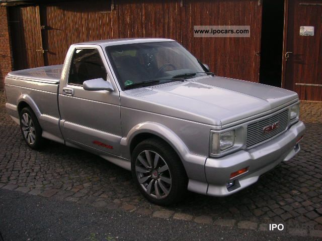 1992 GMC Syclone, silvermet., Permanently in Progress Off-road Vehicle ...