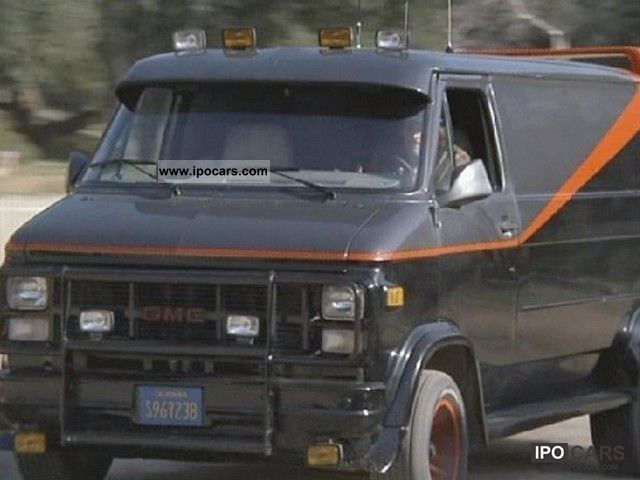 1978 Gmc Vandura 5 7 V8 D Epoca A Team Replica Car