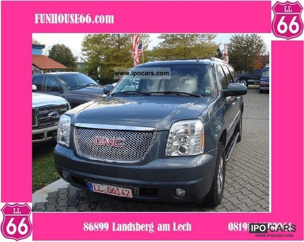GMC  Yukon XL Denali, 6.2 Vortec, 4x4, Petrol, 7 seater 2007 Liquefied Petroleum Gas Cars (LPG, GPL, propane) photo