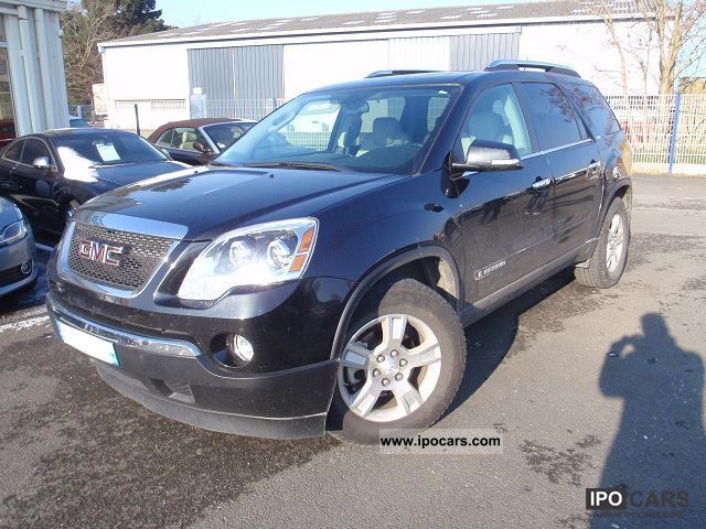 GMC  ACADIA 3.6L V6 BVA 2008 Liquefied Petroleum Gas Cars (LPG, GPL, propane) photo