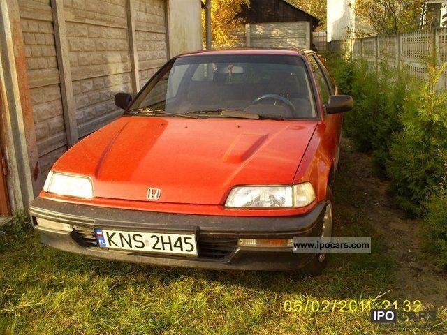 1991 Honda  Civic Other Used vehicle photo