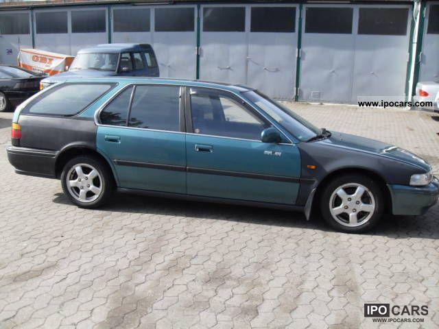 1993 honda accord wagon specs