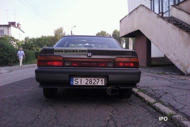 1988 Honda  PRELUDE 2.0i Sports car/Coupe Used vehicle photo