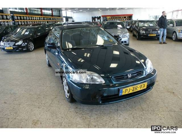1996 Honda  Civic 1.6 I LS Sports car/Coupe Used vehicle photo