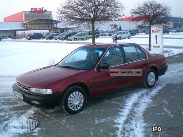 1991 Honda  Accord 1991 HONDA ACCORD Z GAZEM! TANIO Limousine Used vehicle photo