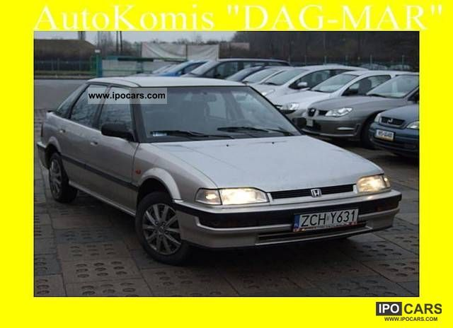 1990 Honda  Concerto 1.6 122km Limousine Used vehicle photo