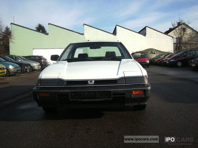 1986 Honda  Prelude Aut. EX Sports car/Coupe Used vehicle photo
