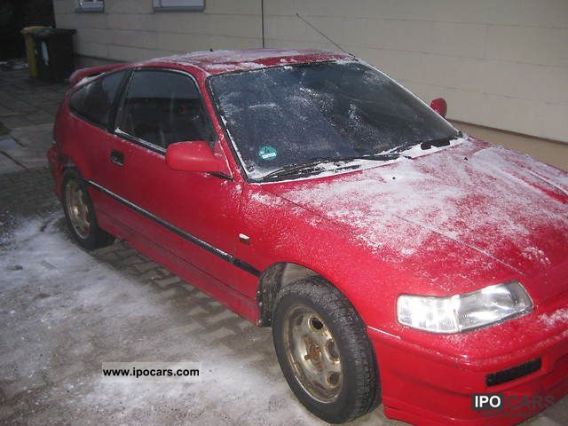1992 Honda  CRX 1.6i-16 Sports car/Coupe Used vehicle photo