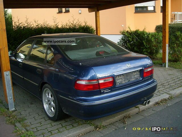 1996 Honda Accord 2 0i Car Photo And Specs
