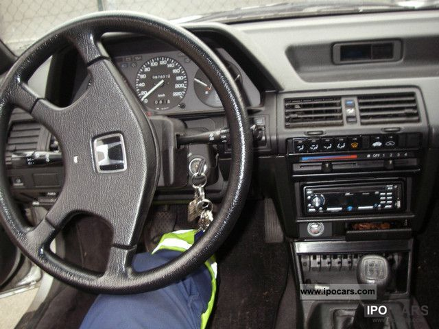 1988 Honda Aero Deck 2 0 Accord Ex T 220 V Until April 2013