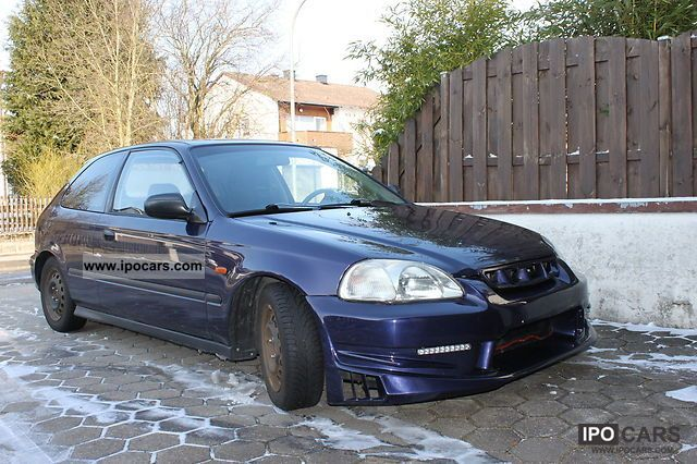 1996 honda civic tuning ej9 car photo and specs. Black Bedroom Furniture Sets. Home Design Ideas