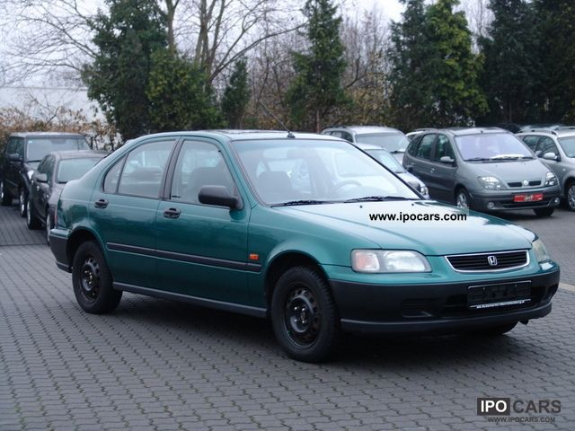 1996 Honda Civic 1 4l Car Photo And Specs