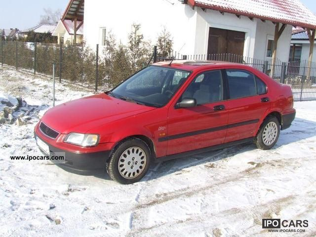 1996 Honda  1400i 90 KONI 6l/100km, Zadbana Limousine Used vehicle photo