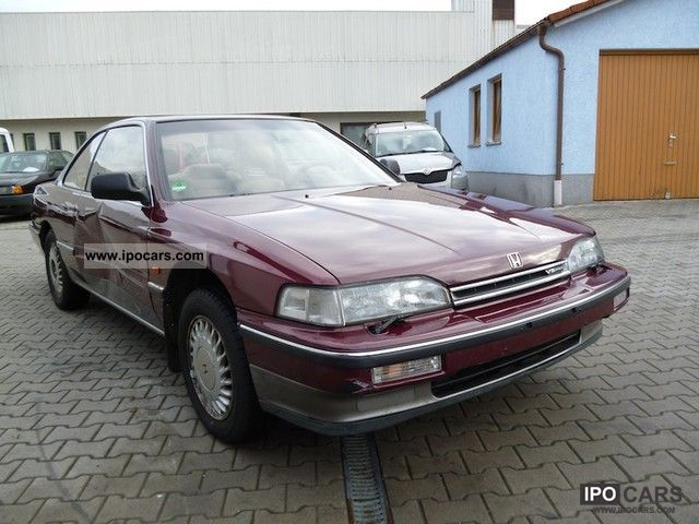 1990 Honda Legend V6 2 7 Air Conditioning Cruise Control Leather Full Car Photo And Specs