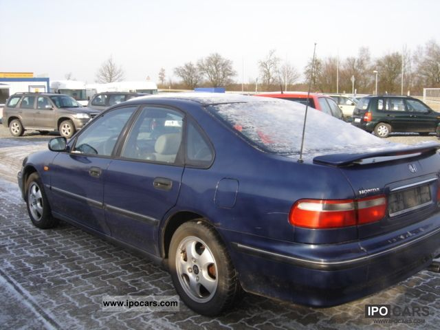 1997 Honda Accord 2 0i Ls Car Photo And Specs