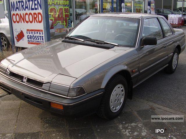 1987 Honda  Prelude Aut. EX AIR + sunroof Sports car/Coupe Used vehicle photo