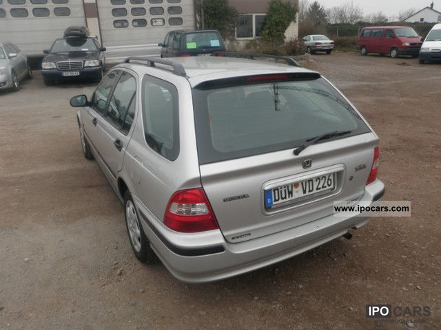 Honda Civic Aerodeck I Ls Lgw