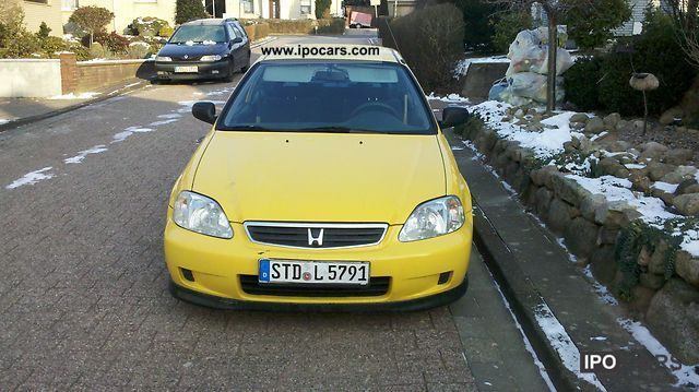 2000 Honda Civic 1 4i Car Photo And Specs