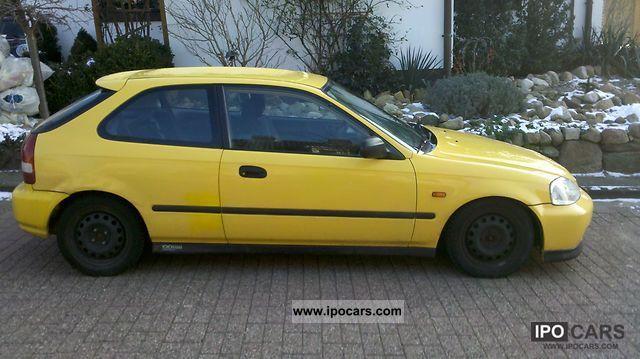 2000 Honda Civic 1 4i Car Photo And Specs