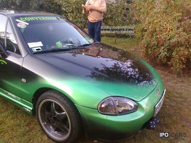 Honda  CRX DEL SOL 1995 Liquefied Petroleum Gas Cars (LPG, GPL, propane) photo