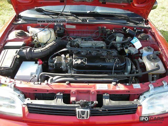 1991 Honda Concerto 1 6i 16v Car Photo And Specs