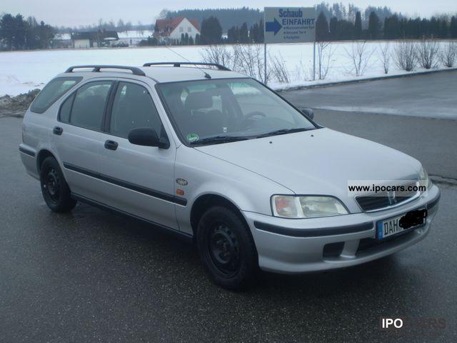 1999 Honda  Aerodeck 1.4i S Comfort Estate Car Used vehicle photo