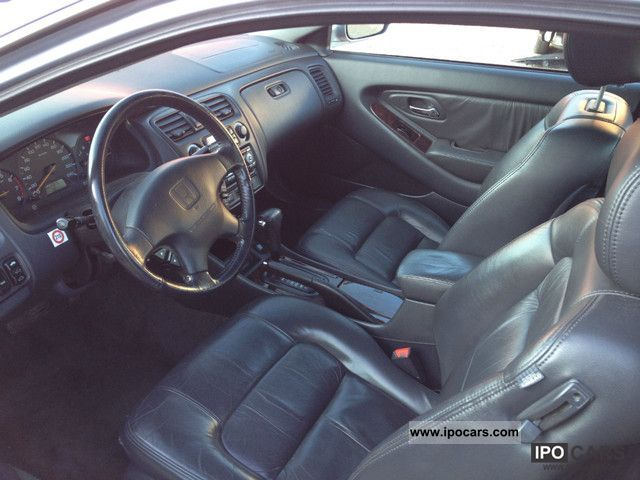 2001 Honda Accord Coupe 3 0i V6 Leather Climate Car Photo And Specs