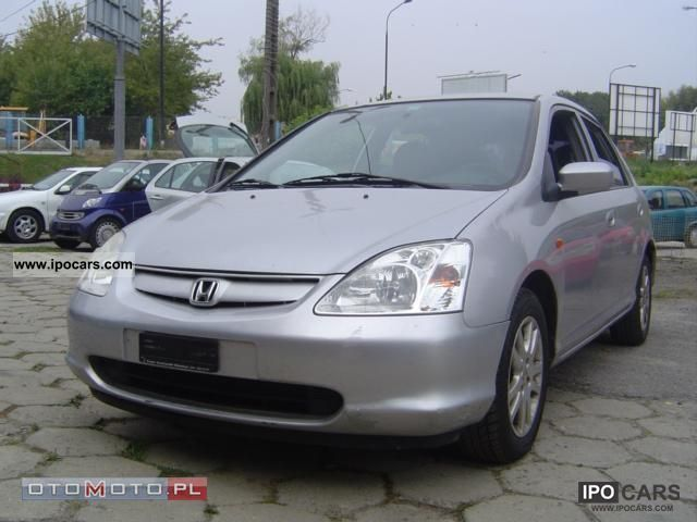 2001 Honda  Civic 1.6 VTEC climate Small Car Used vehicle photo