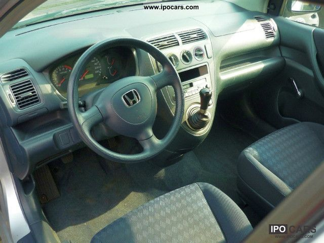 2003 Honda Civic 1 4i 1 Hand Car Photo And Specs